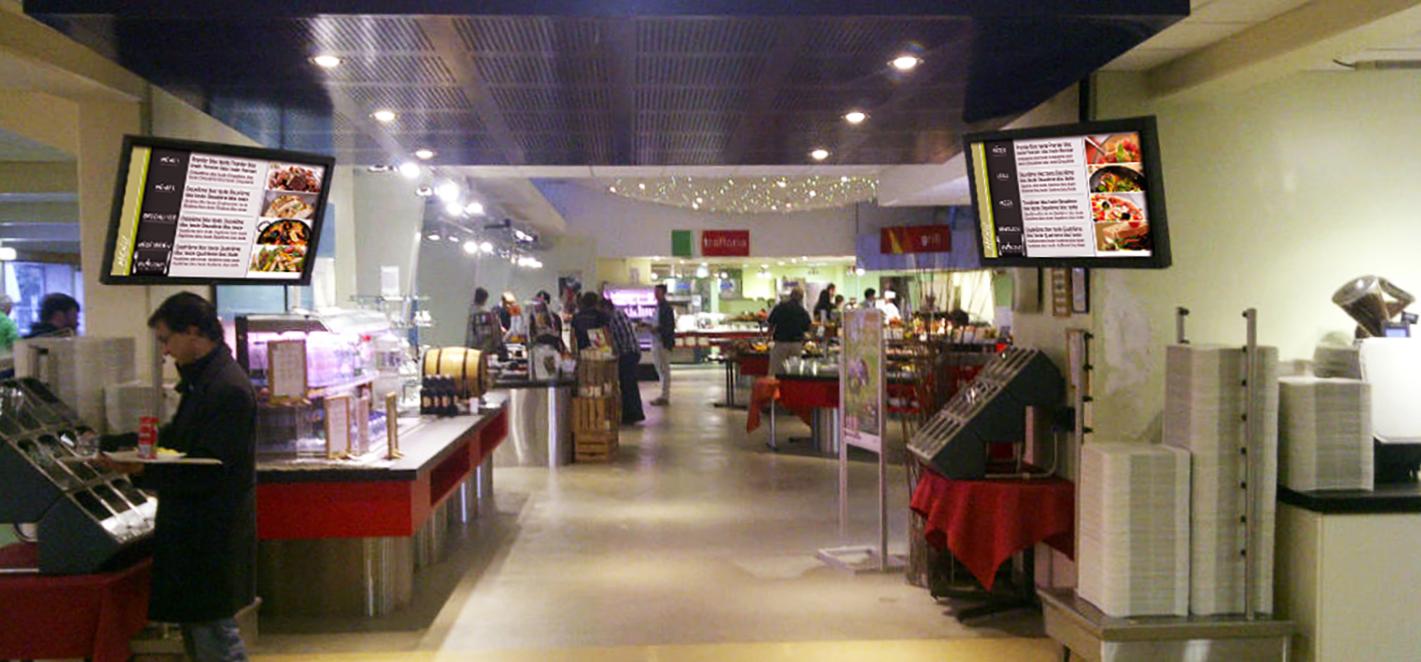 dynamiser son restaurant c'est possible grâce à l'affichage dynamique