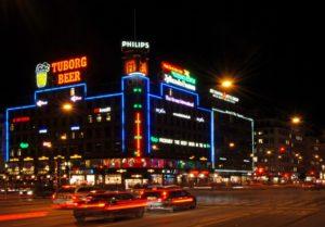 L'affichage digital fait partie des habitudes de la société danoise