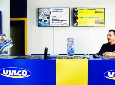 Digitalisation des points de vente Vulco