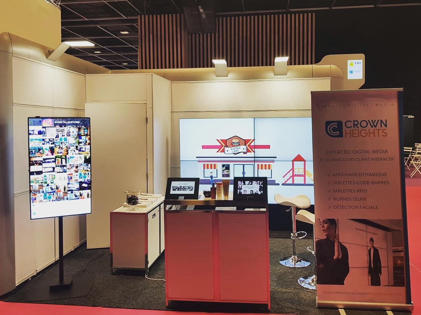 Crown heights paris retail week - digital-in-store