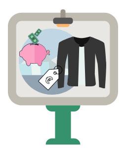 Affichage vitrine : mettre en valeur les soldes et promotions