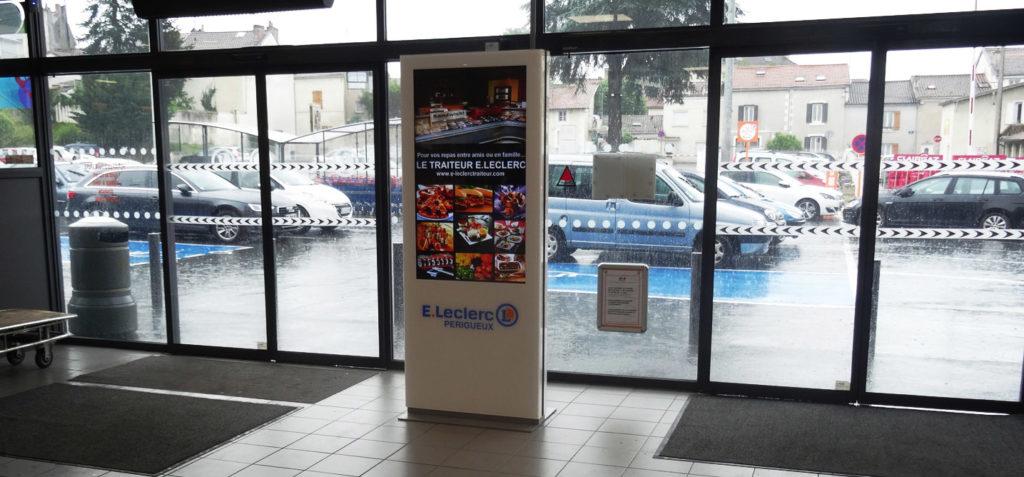 E.Leclerc opte pour la solution d'affichage dynamique myTV