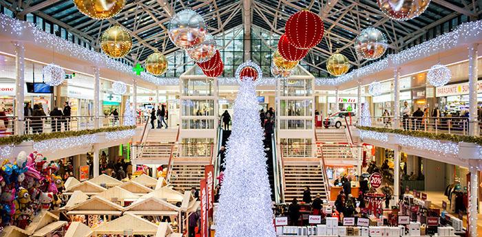 Réussir un Noël digital dans les points de vente et les centres commerciaux
