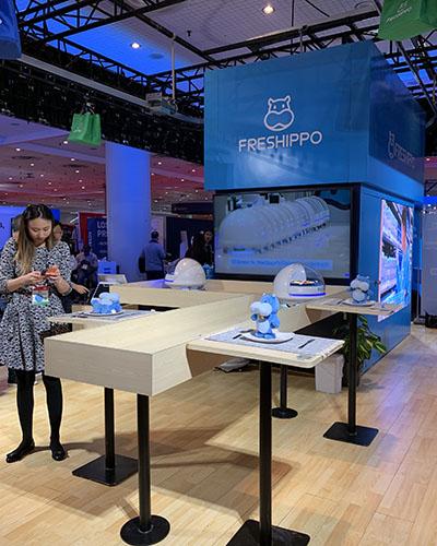 Le magasin du futur : Freshippo