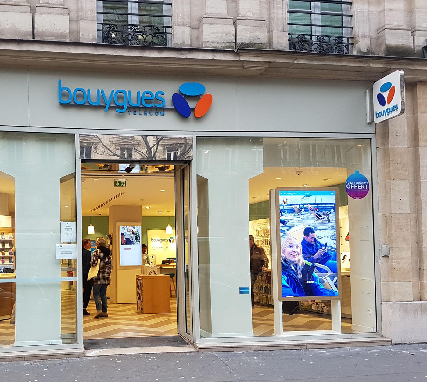 Bouygues Telecom renouvelle sa confiance à Crown Heights pour digitaliser ses vitrines