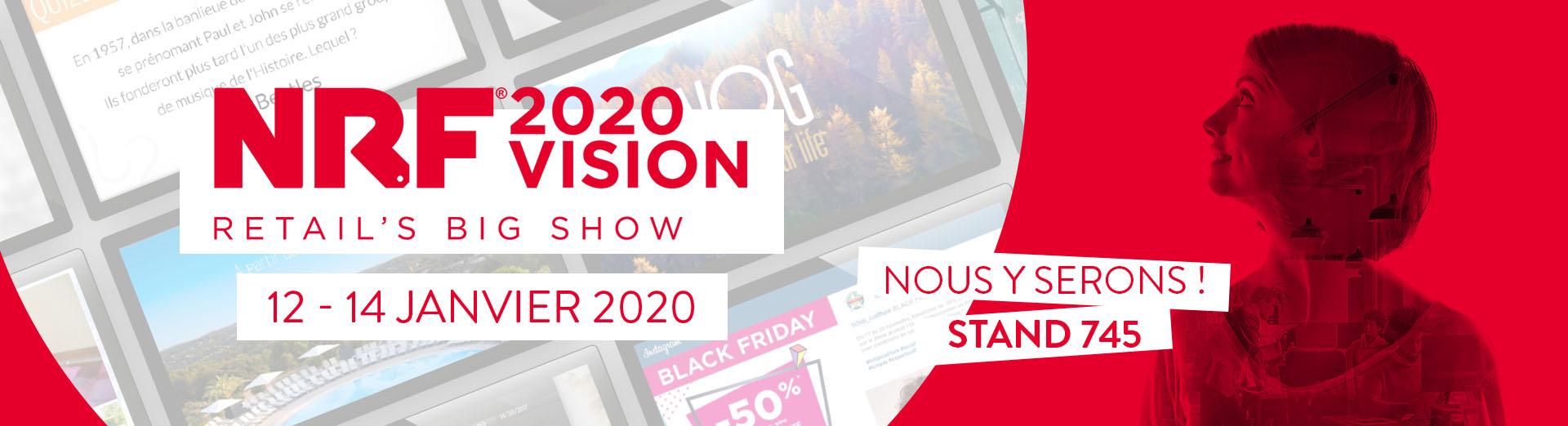 Crown Heights et CrownTV seront présents au NRF 2020.