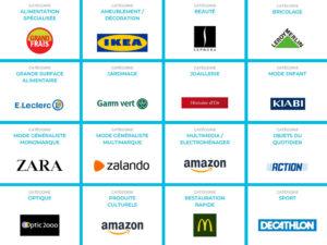 16 enseignes retail en compétition